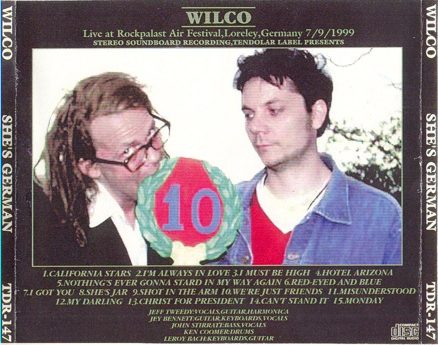 Lyric my darling wilco lyrics : WilcoBase: EVENT - Wilco @ Loreley Festival - Loreley, Germany ...